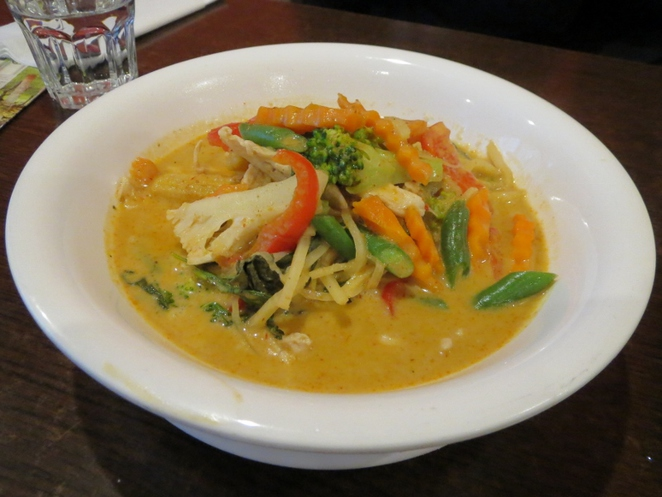 Thai Lucky Bell, Red Curry, Adelaide