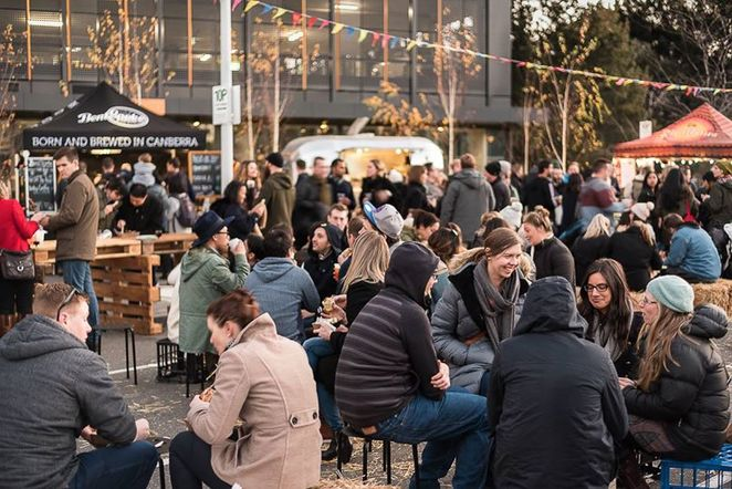 the forage, winter, 2018, foodie markets, ACT, events, markets, night markets, food trucks, best markets, food vans, gourmet food, foodie events, little national hotel,