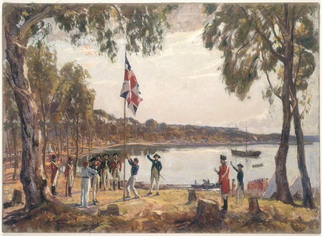 The Founding of Australia, Captain Phillip wikipedia