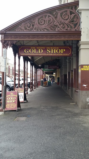The Mining Exchange Gold Shop.