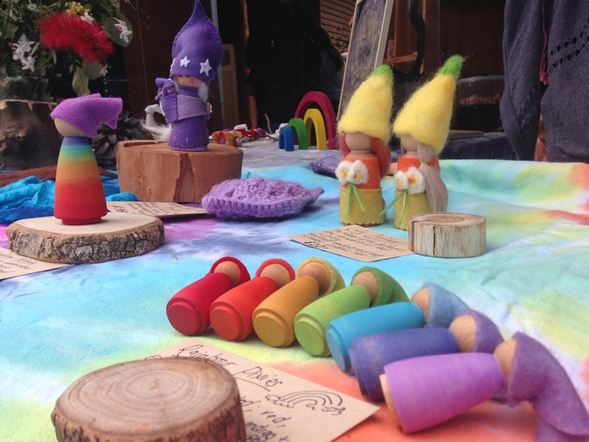Waldorf Felt and Wood toys