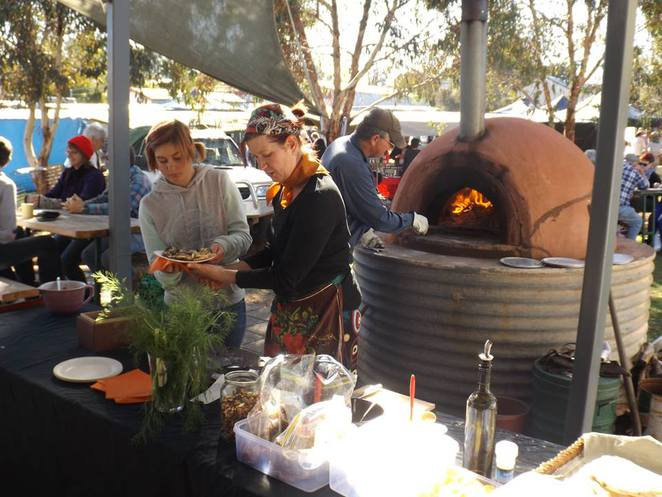 wood oven, fresh produce, fresh food, organic food, markets, country markets, Wirrabara Producers Market, southern Flinders Ranges, South Australia