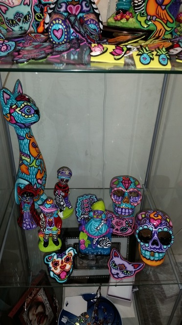 Day of the Dead Festival crafts