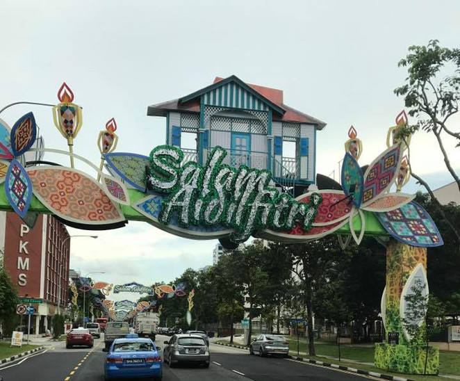 Geylang Serai Market, Hari Raya Light Up 2017, Hari Raya Light Up, Geylang Singapore, Ramadan Bazaar, Joo Chiat Complex, Malay museum, Onan Road, Tengku Aman Road