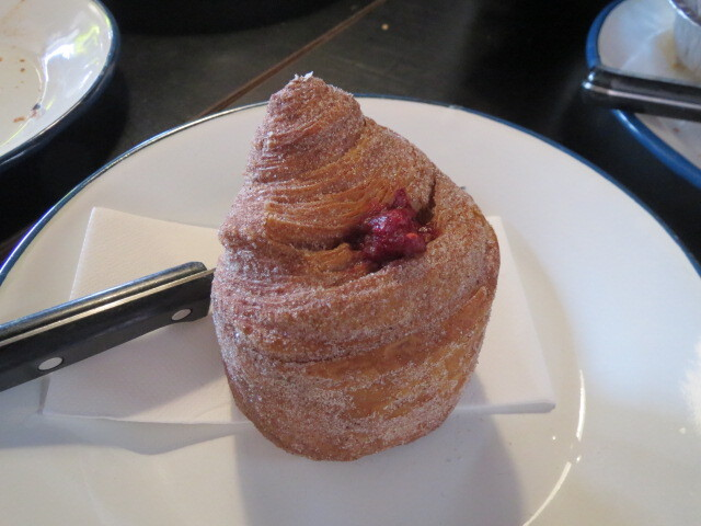 Abbots and Kinney, Croydon, Raspberry Cruffin, Adelaide