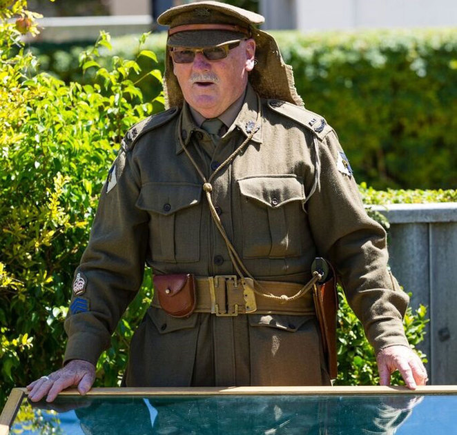 ANZAC Cottage time capsule