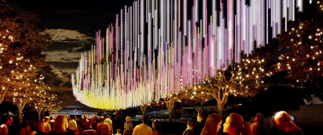 Brisbane Airport Light Garden Brisbane Festival