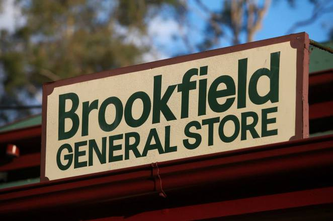 brookfield general store sign