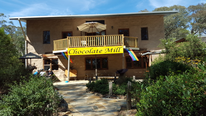 Chocolate Mill and Garden Beds