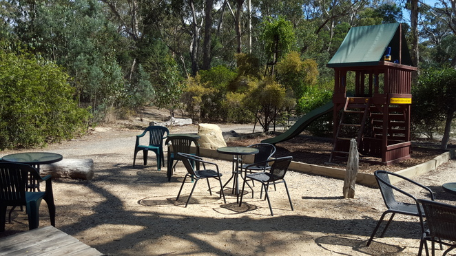 Tables and Chairs in the Bush Setting