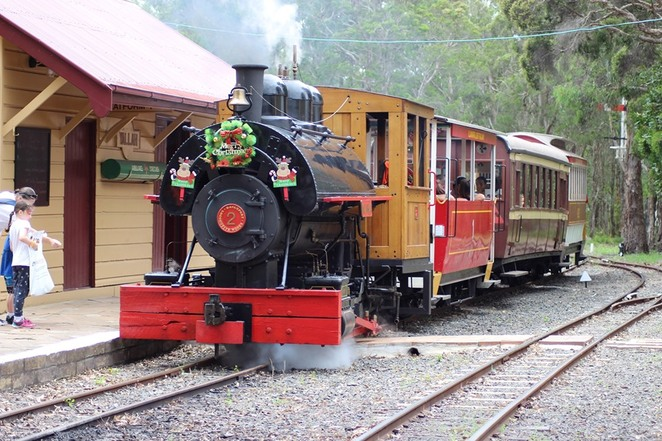 Christmas in July, Illawarra Light Railway Museum