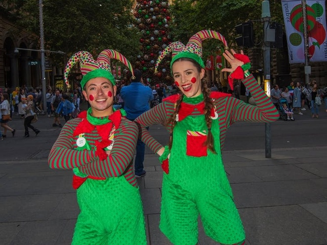 Christmas in the City Street Party, Sydney