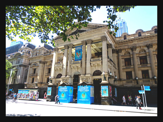 comedy, melbourne international comedy festival, MICF, town hall, improvilicious, the improvised guide to high school, jimmy james eaton, ben russell, cassandra vagliviello, kids performer, high school kids