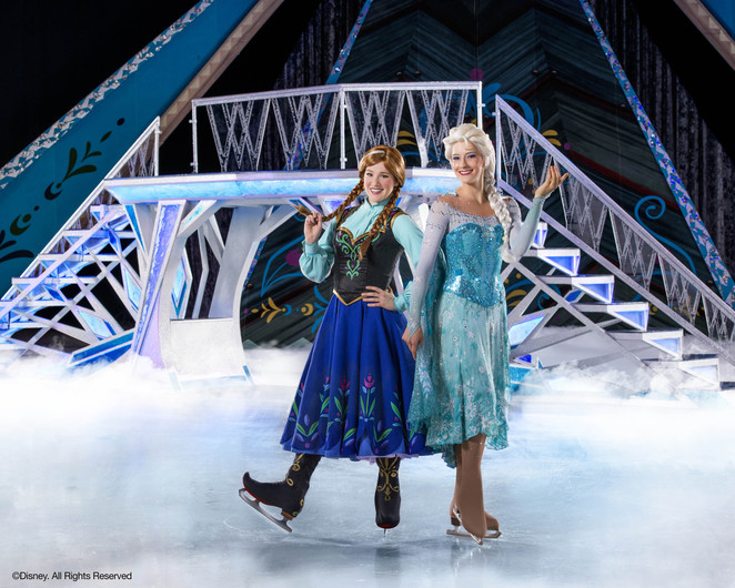 disney on ice presents frozen elsa and anna