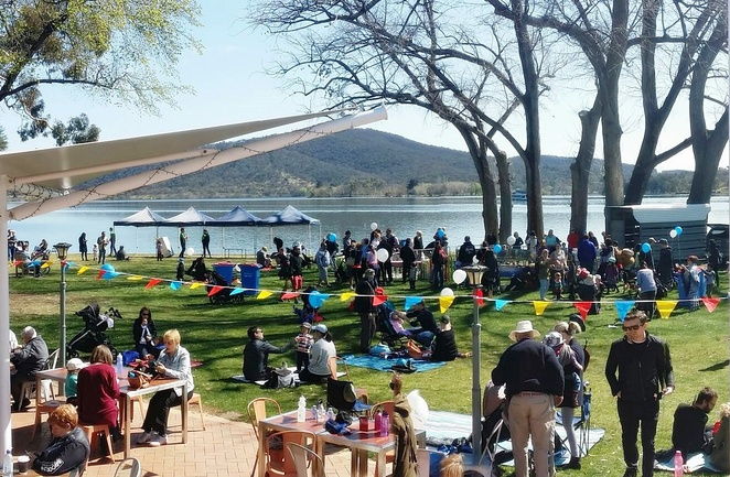 family fun day, canberra southern cross club, canberra, ACT, september, 2018, family events, kids, children, snapper on the lake, fish and chips, activities, events,