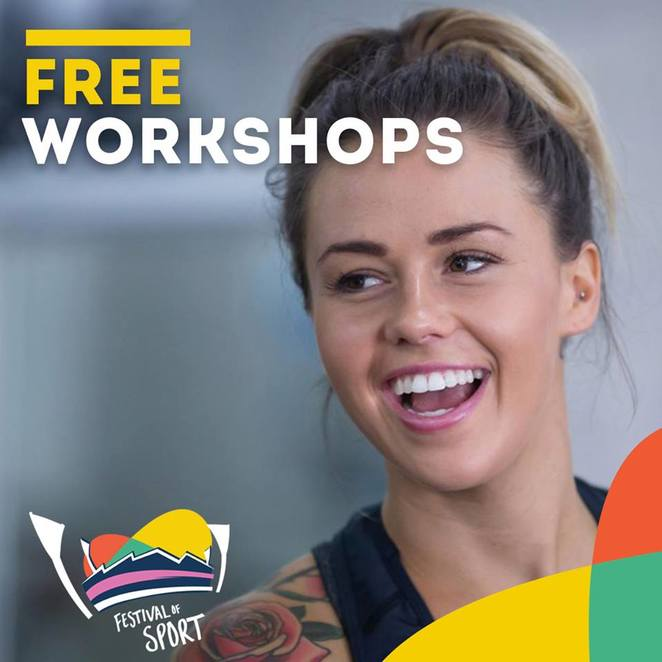 Festival of Sport, Geelong, 2018, Free, school holidays, bellarine, kardinia park, GMHBA stadium, geelong stadium, mik maks, sport, free activities, workshops,