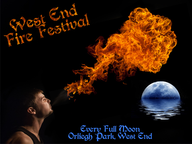 Festivals, Full Moon, West End, Family, Entertainment, Fire Spinning