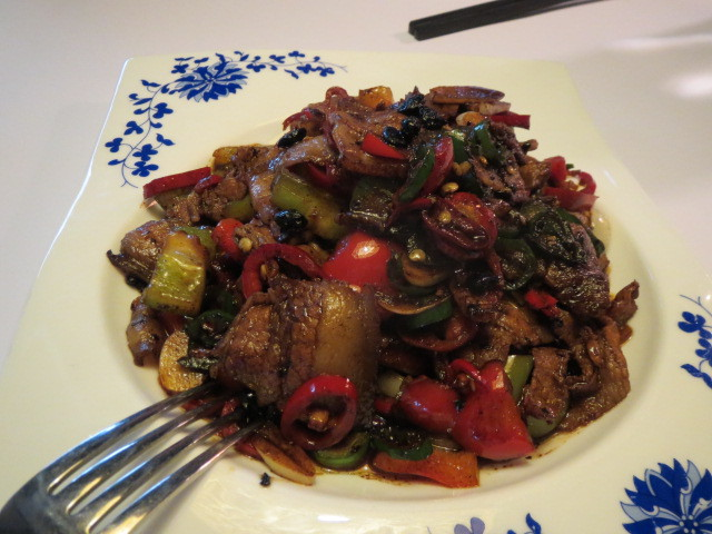From Orient, Stir-Fried Pork Belly Slices with Fresh Chilli, Adelaide