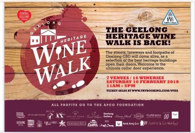 Geelong Heritage Wine Walk