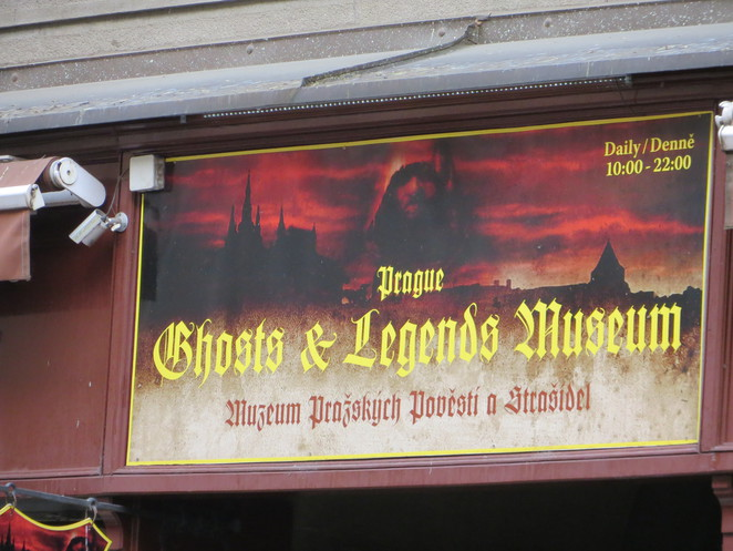 ghosts, legends, museum, prague