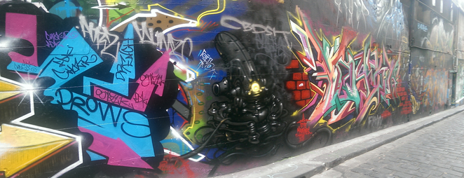 Hosier Lane, Street Art