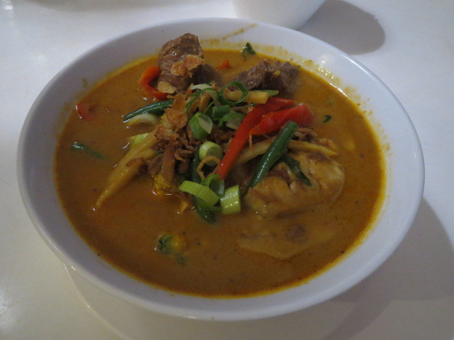 In Thais Cafe & Noodle Bar, Thai Red Curry, Adelaide