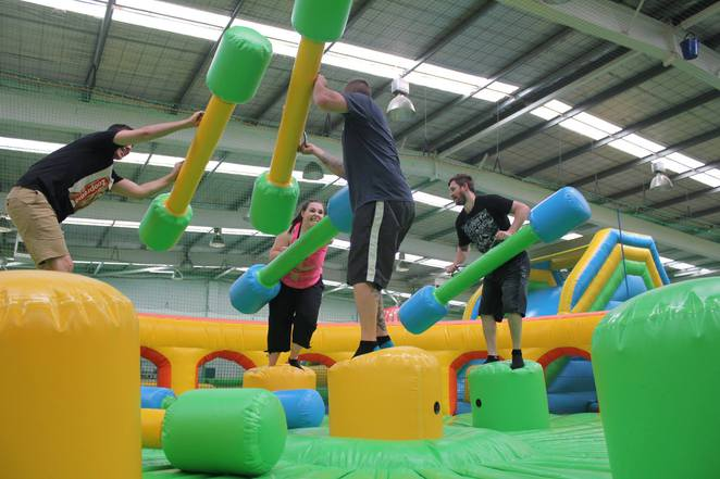 Inflatable World, Salisbury, Adelaide, Bounce, Birthday Parties, Velcro Wall