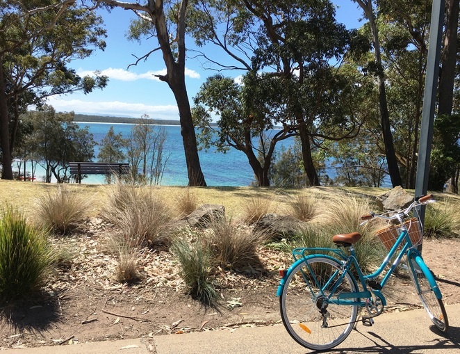 Jervis Bay Bike Cycle Route Huskisson Vincentia