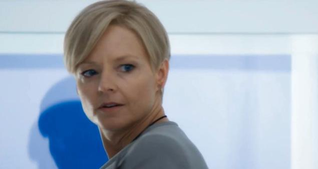 Jodie Foster in Elysium as Minister Delacourt