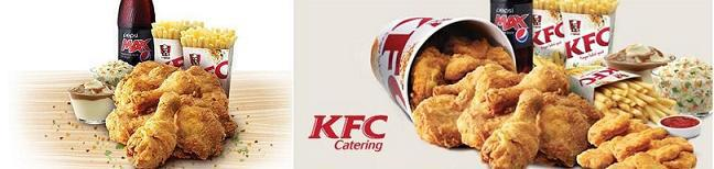 KFC family feast and catering