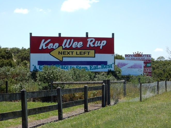 koo wee rup, south gippsland, roadside stop, south gippsland highway, lookout tower, swamp reserve,
