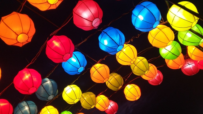 lanterns, nusa dua light festival