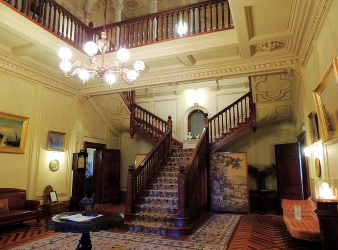 martindale hall, south australian attractions, heritage tourism, south australian, mintaro, grand mansion, clare valley, grand staircase