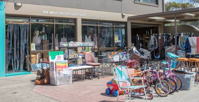 Ocean Grove, Bellarine, Geelong, Op Shop, bargains, second hand, things to do, thrift, activities, the wave,