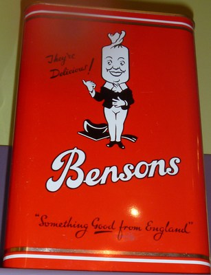 Bensons at sweet & Treats Richmond