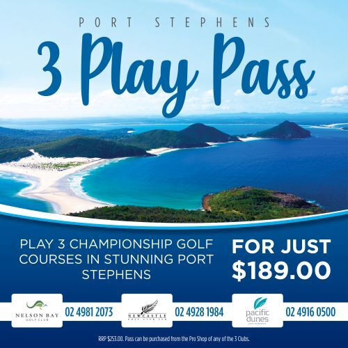 pacific dunes, golf club, NSW, port stephens, newcastle, nelson bay, golf courses, whats on, deals, clubs, carts, hunter, best courses,