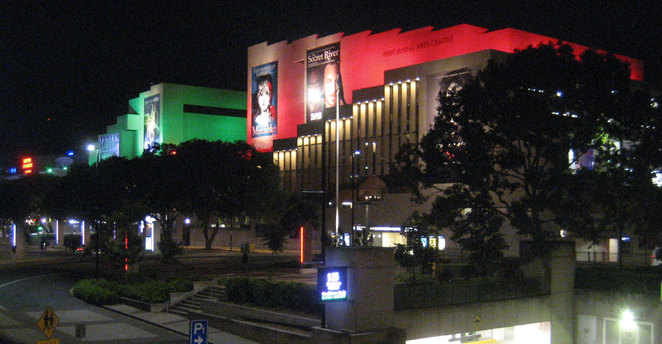 The Queensland Performing Arts Centre at South Bank