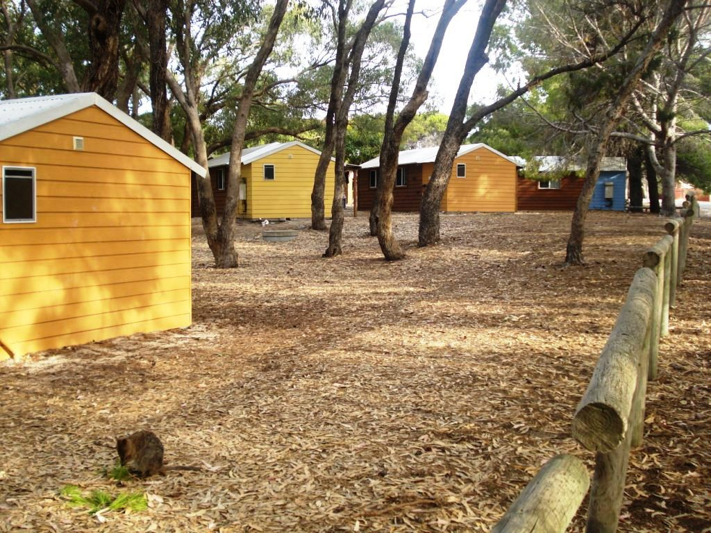 Rottnest island campground perth for Camp sites with cabins