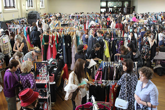 Round She Goes, Marrickville, Vintage, Pre-Loved, Market, Clothing, Fashion, Jewellery, August 2015