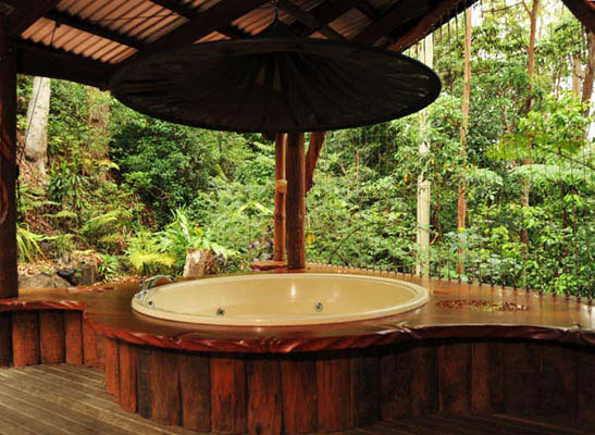 top three romantic getaways with fireplaces and spas near brisbane rh weekendnotes com