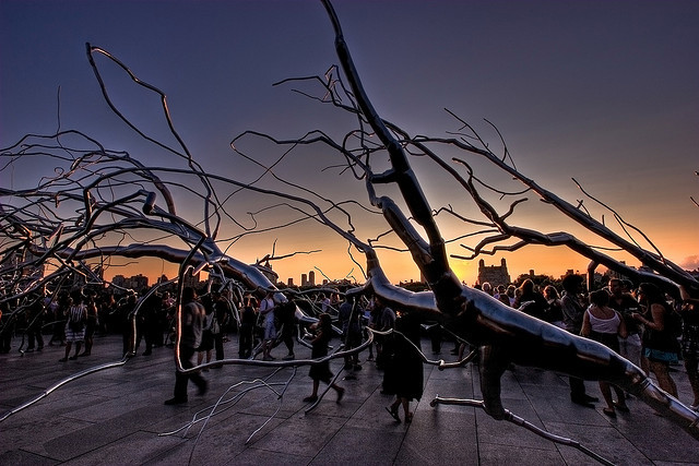 The Maelstrom rooftop bar (Attribution: Flickr - Alan Strakey)