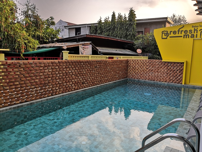 swimming pool sleep mai lifestyle hotel tha pae chiang mai old city where to stay accommodation