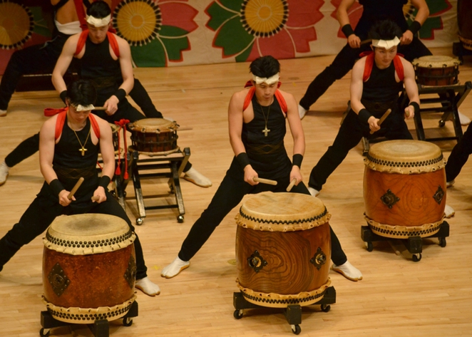Taiko Drum playing