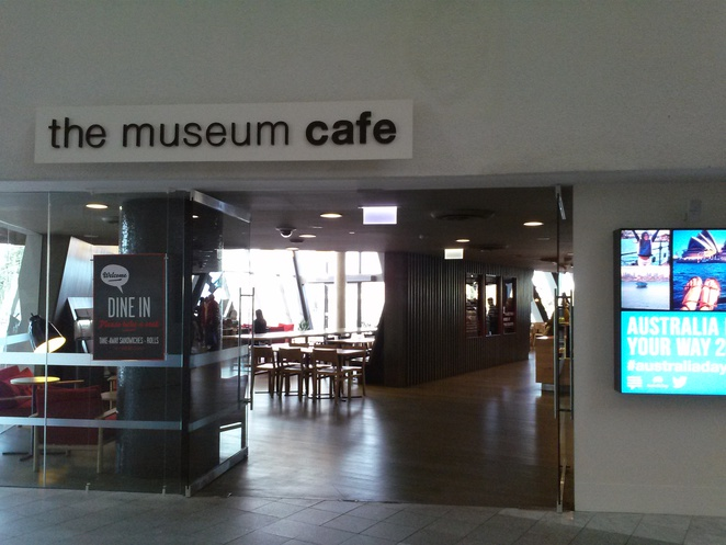 The Museum Cafe, National Museum of Australia