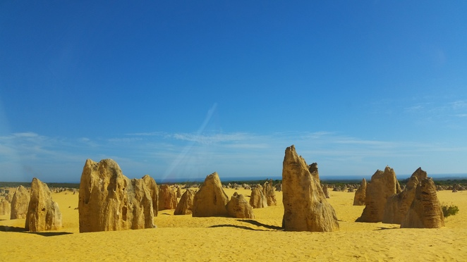 the pinnacles, natural attractions, day trip, road trip, tourist site, tourist attraction, photography, unique landscape, cervantes, Western Australia, outdoors, outback, desert, Pinnacles, natural wonders, geology, science