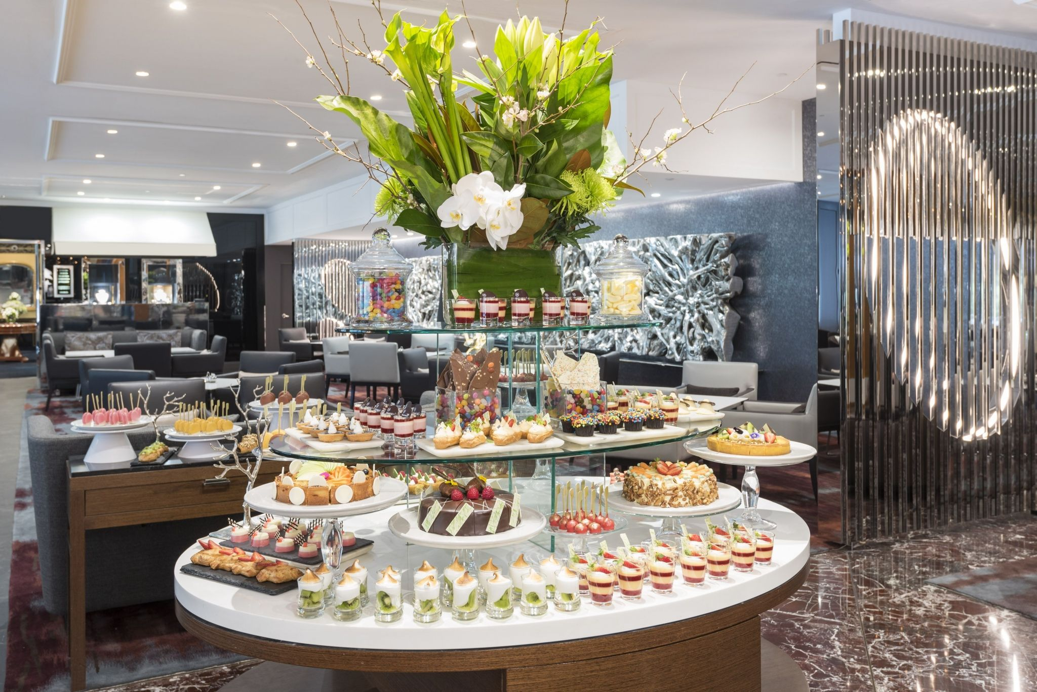 Afternoon High Tea Buffet At Sheraton Hotel On The Park