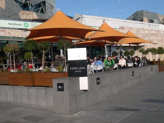 Time Out Cafe, Federation Square