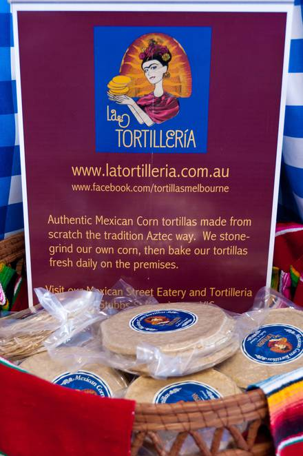 House made tortilla's ready to take home with you