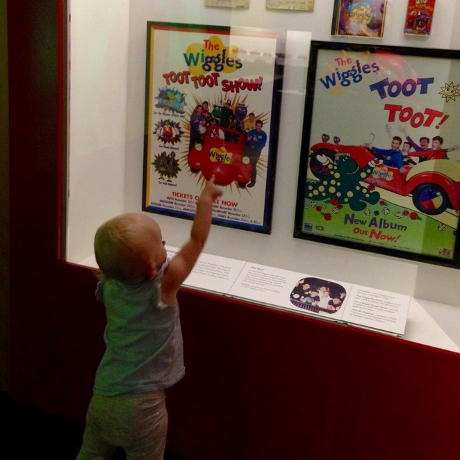 Wiggles exhibition, powerhouse museum Sydney, museums in Sydney, exhibitions, exhibitions for kids, cheap museums