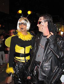 Guests in the Costume Party(Image source is from Wikipedia)